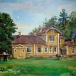 П.П. Кончаловский. Дом в Буграх, 1933
