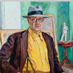 П.П. Кончаловский. Автопортрет (в желтой рубашке), 1943