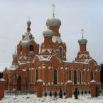 Дарна. Церковь Воздвиженская