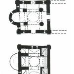 Церковь Рождества Богородицы в Перыни, планы