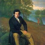 Карл Иванович Альбрехт (Художник О. Кипренский, 1827 г.)
