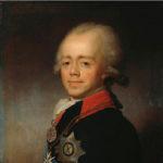 Император Павел I. Портрет работы В.Л. Боровиковского