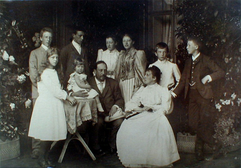 Семья Морица Филипповича Марка