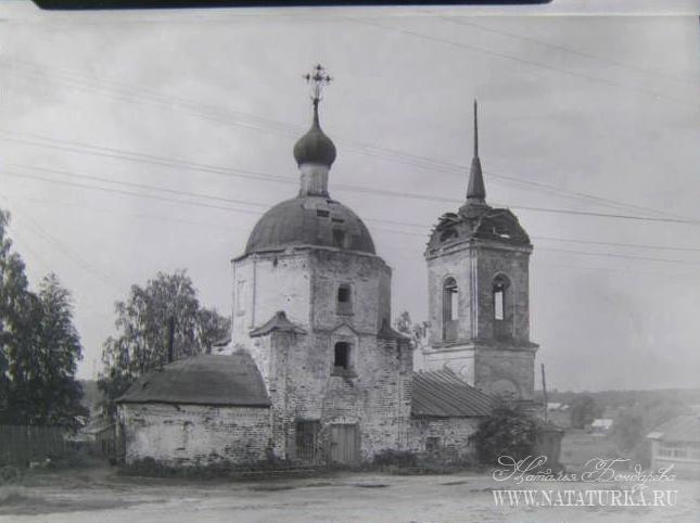 Казанская церковь в усадьбе Суково