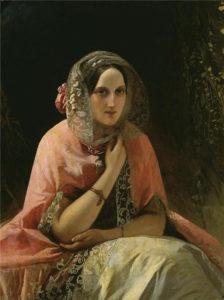 Портрет великой кн. Марии Николаевны