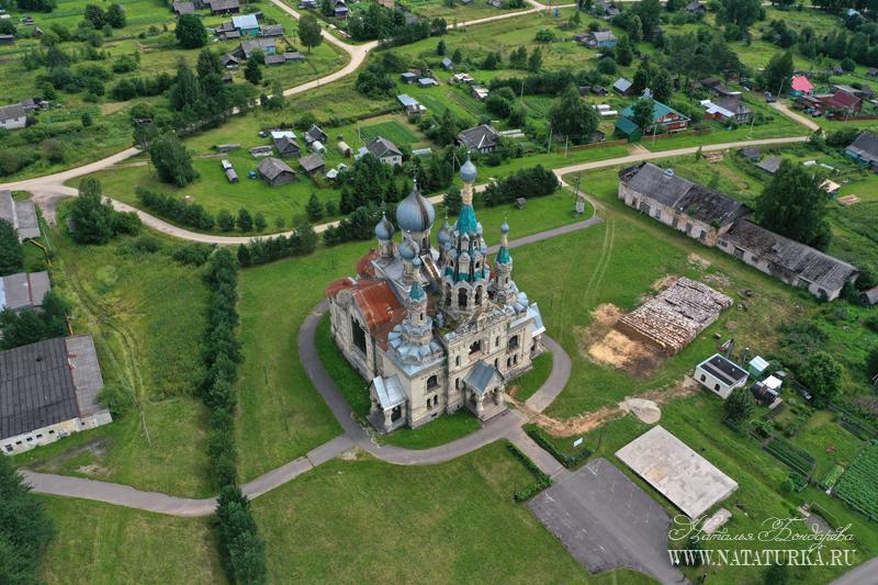 Церковь Спаса Нерукотворного Образа в с. Кукобой