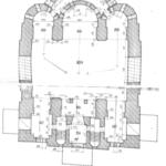 Кукобой, план церкви Спаса Нерукотворного Образа