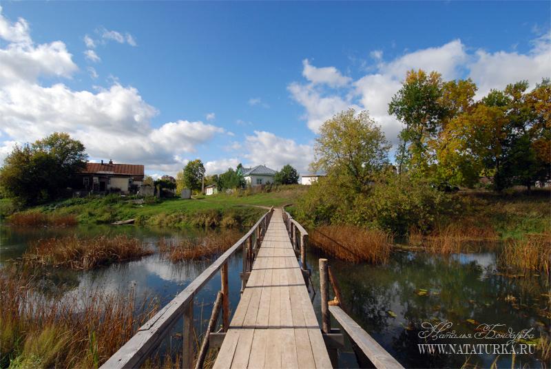 Лавы (мостики через реку) в Кашине
