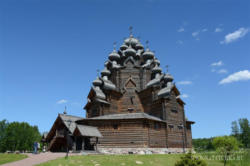 Усадьба Богословка, церковь Покрова Пресвятой Богородицы