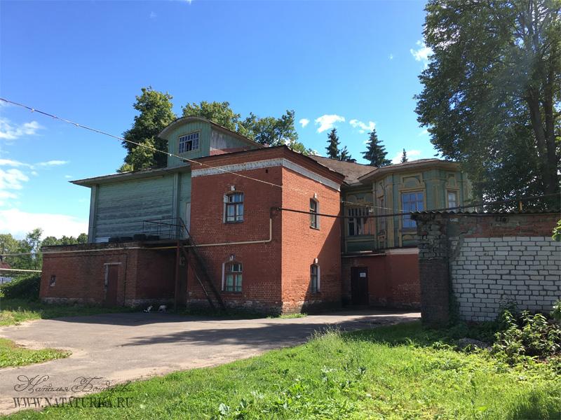 Дворовый фасад особняка Сенькова в Вязниках