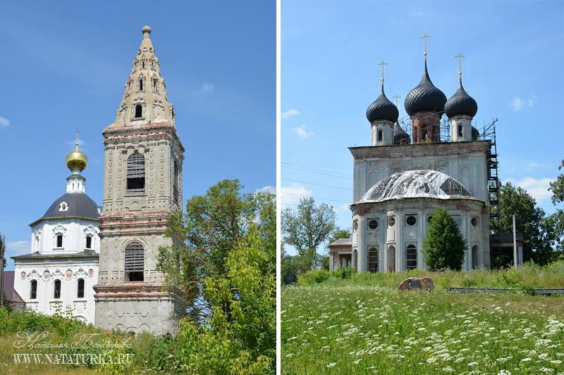 Нижний Ландех. Храмовый комплекс